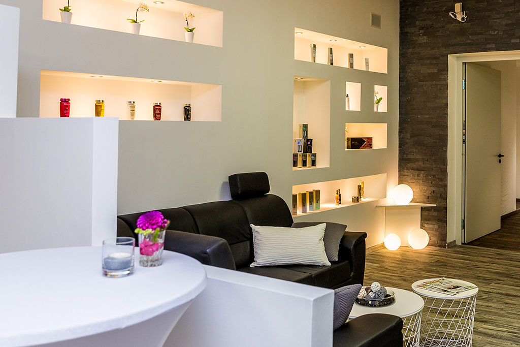 Beauty Lounge Bereich