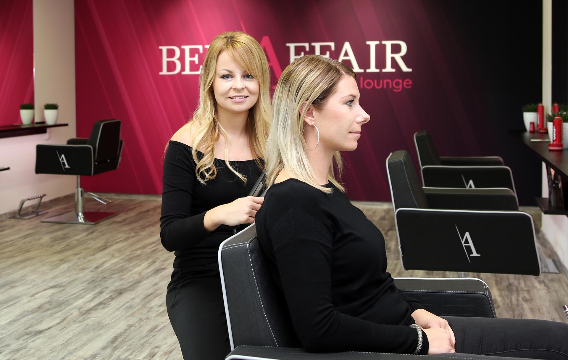 Öffnungszeiten Friseursalon BellAffair Beauty Lounge