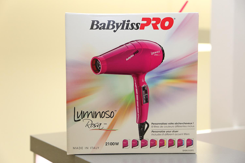 BaByliss Pro Luminoso Rosa