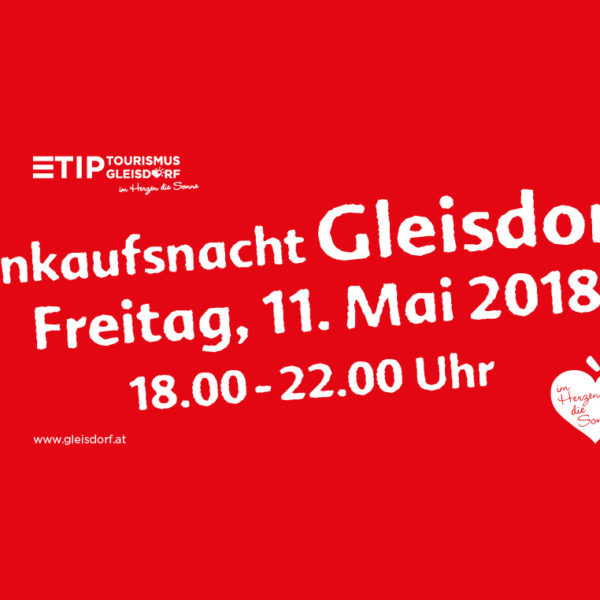 Gleisdorfer Einkaufsnacht