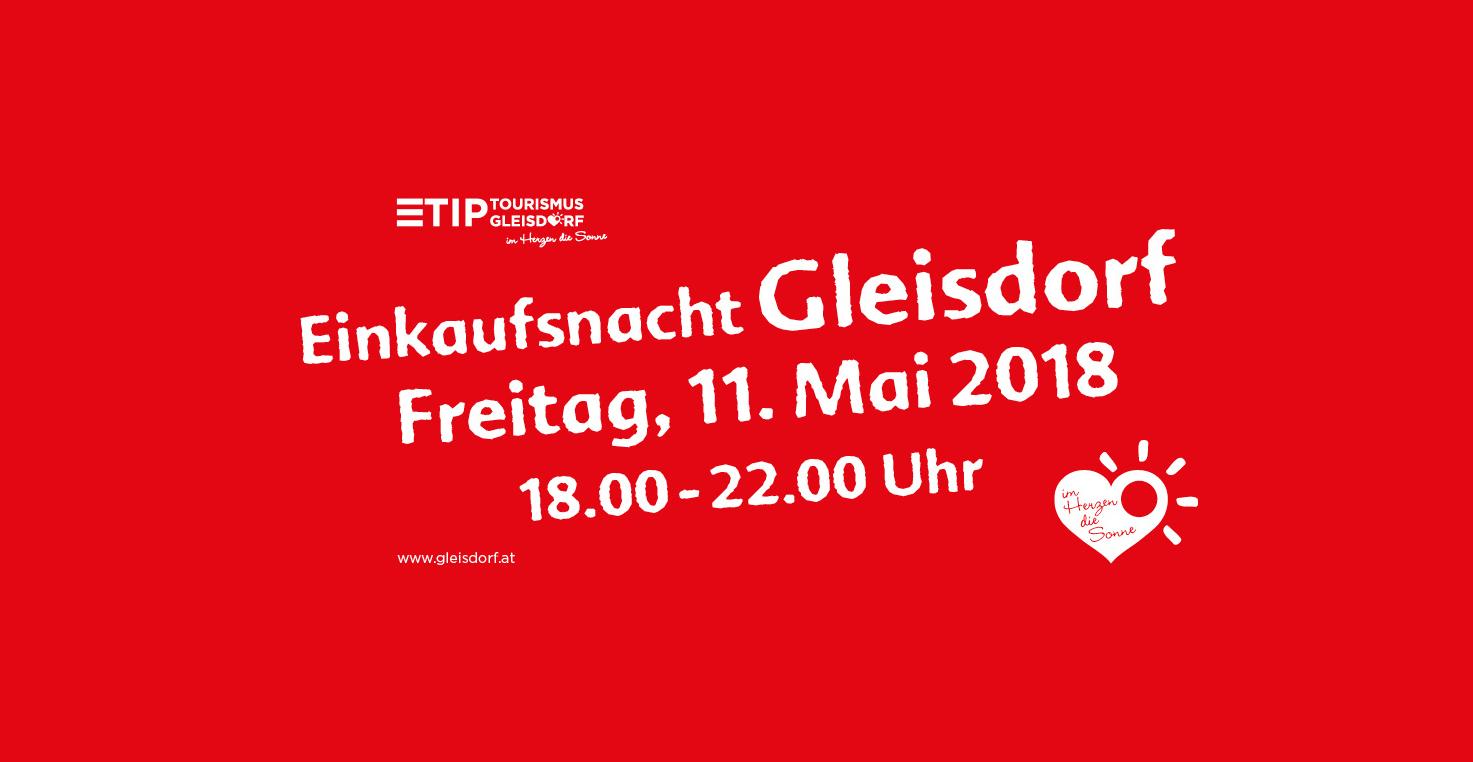 Gleisdorfer Einkaufsnacht Mai 2018