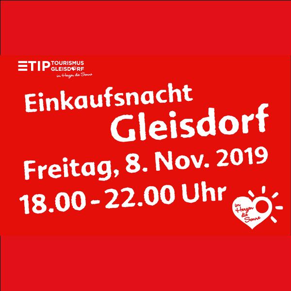 Lange Einkaufsnacht Gleisdorf November 2019